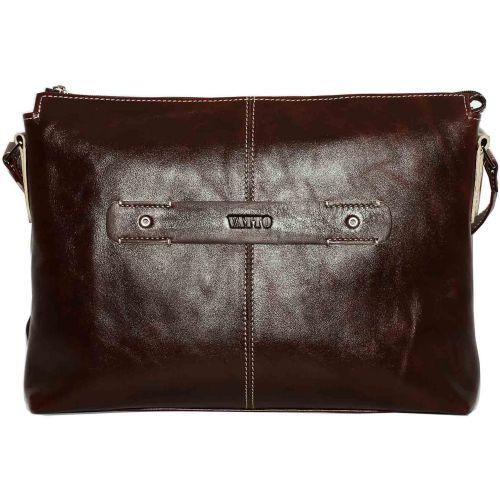 Женская кожаная сумка Wk31 Rabat400 коричневая