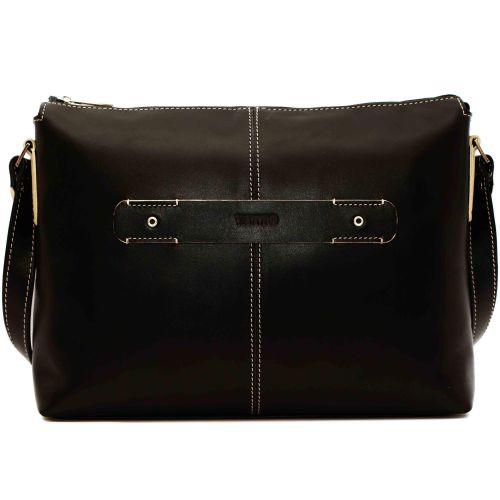 Женская кожаная сумка VATTO Wk31Kaz1 черная