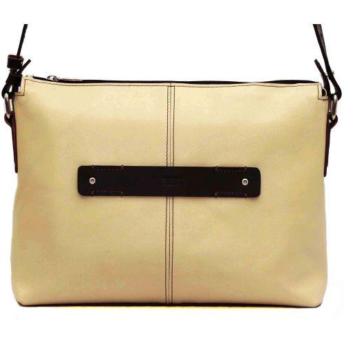 Женская кожаная сумка VATTO Wk31Kaz125.400 бежевая