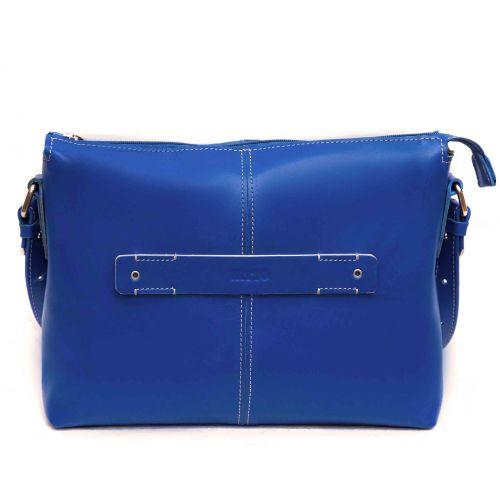 Женская кожаная сумка VATTO Wk31Kaz680 синяя