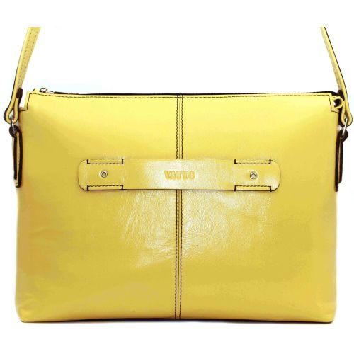 Женская кожаная сумка Wk31N8Kaz400 желтая