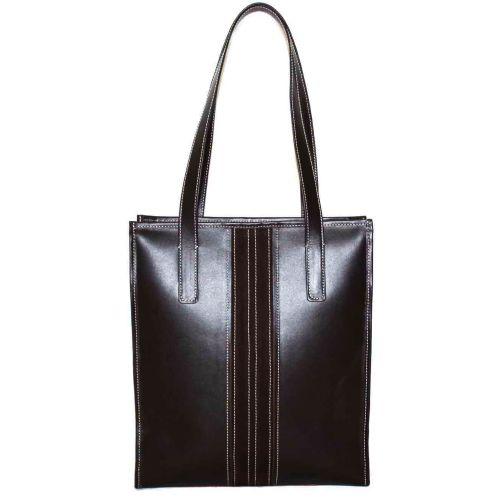 Женская кожаная сумка VATTO Wk36Z3Kaz400 коричневая
