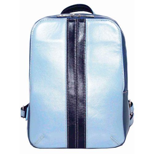 Женский кожаный рюкзак VATTO Wk37 N2.7.4 голубой