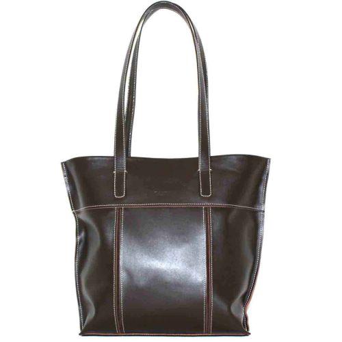 Женская кожаная сумка VATTO Wk38 Kaz400 коричневая