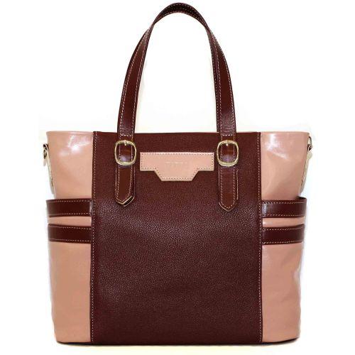 Женская кожаная сумка VATTO Wk39-2 бордовая