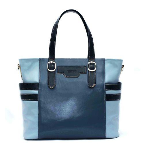 Женская кожаная сумка VATTO Wk39-4 синяя