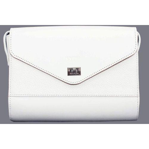 e36dc03a71fa Женская кожаная сумка VATTO Wk4 F6Sp2 белая недорого — заказывайте в ...