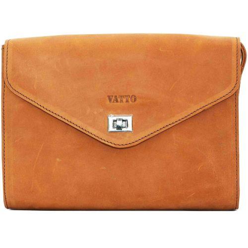 Женская кожаная сумка VATTO Wk4 Kr190 рыжая