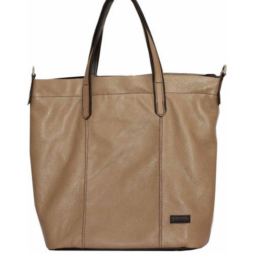 Женская кожаная сумка VATTO Wk43 Fl5 бежевая