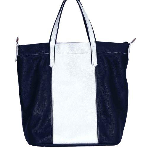 Женская кожаная сумка VATTO Wk43 Fl6.1 синяя