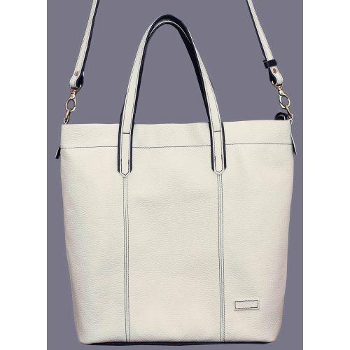 Женская кожаная сумка VATTO Wk43 Fl6 белая