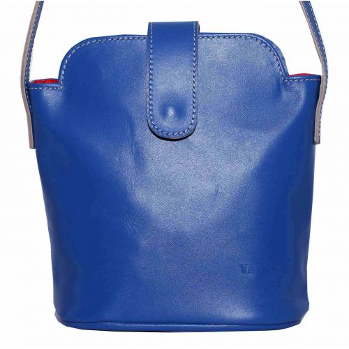 Женская кожаная сумка Wk49 Kaz680 синяя