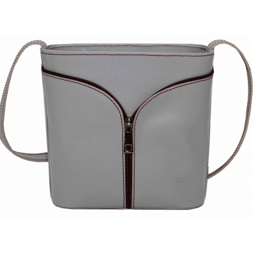 Женская кожаная сумка VATTO Wk51 Sp3 серая