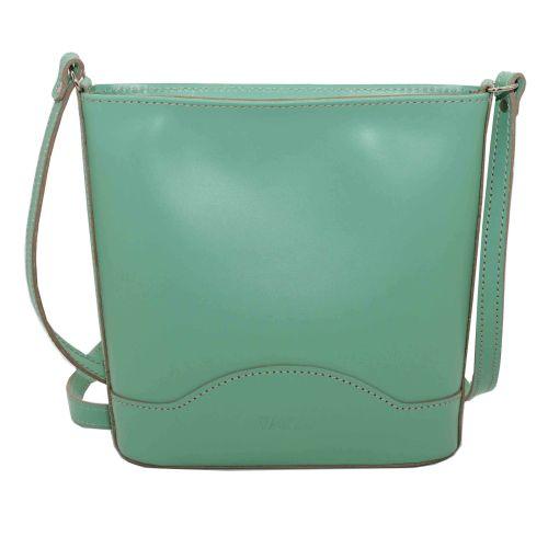 Женская кожаная сумка VATTO Wk52 Sp310 зеленая