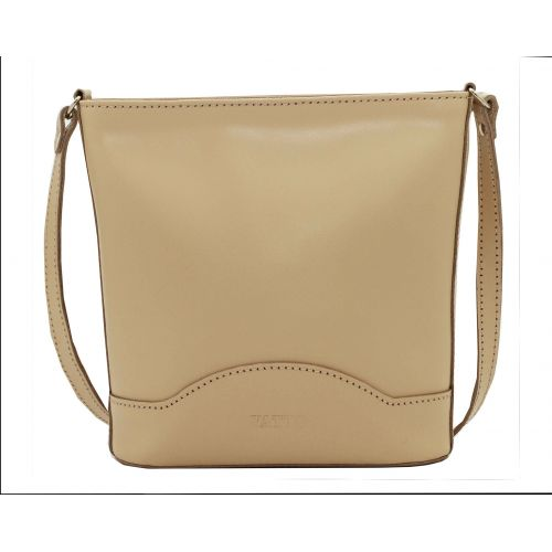 Женская кожаная сумка VATTO Wk52 Sp4 бежевая