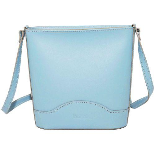 Женская кожаная сумка VATTO Wk52 Sp5 голубая