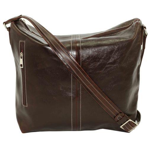 Женская кожаная сумка VATTO Wk53 Rabat400 коричневая