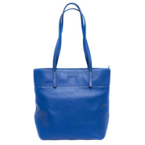 Женская кожаная сумка VATTO Wk5Kaz680 синяя