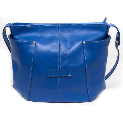 Женская кожаная сумка VATTO Wk7Kaz680 синяя