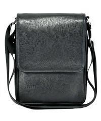 Мужская сумка M52 кожаная черная