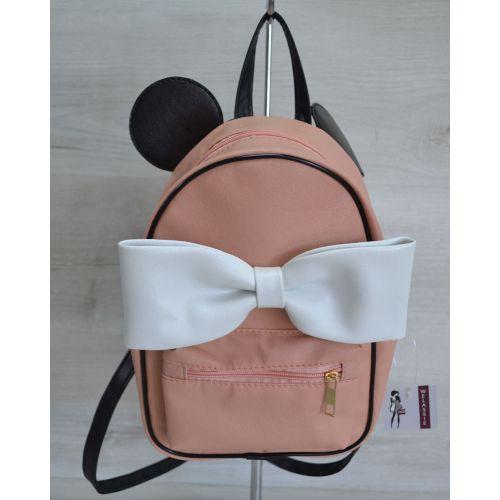 Молодежный рюкзак «Мики» пудровый 43204