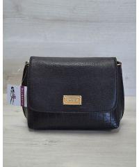Женский клатч черный 60511