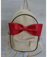 Молодежный рюкзак «Мики» бежевый 43203