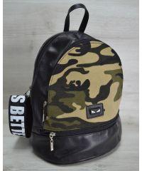 Молодежный рюкзак «Нашивка» камуфляжный 42405