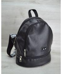 Молодежный рюкзак «Нашивка» черный 42404