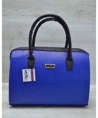 Женская сумка Саквояж электрик 31115