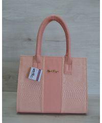 Женская сумка цвета пудры 31203