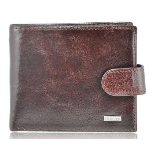 Мужской кожаный кошелек PRA09717 коричневый