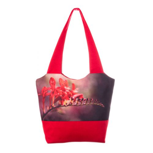 Городская сумка XYZ Флер С0302 Ветка Красная