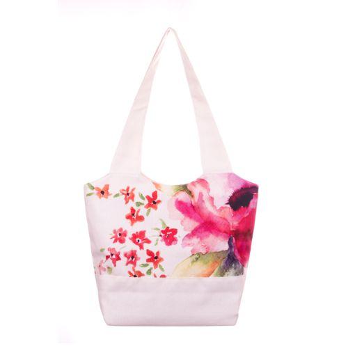 Городская сумка XYZ Флер С0306 Акварель Белая