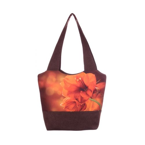 Городская сумка XYZ Флер С0309 Лилия Коричневая