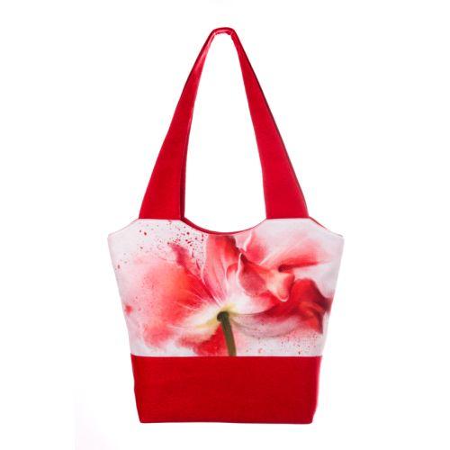 Городская сумка XYZ Флер С0316 Тюльпан Красная