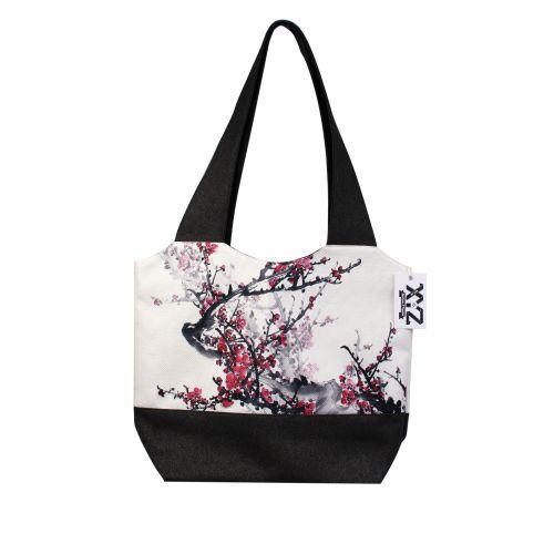 Городская сумка XYZ Флер С0321 Сакура Черная