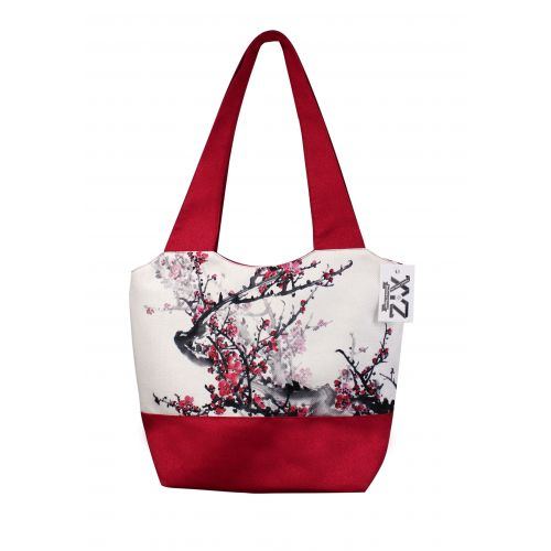 Городская сумка XYZ Флер С0322 Сакура Красная