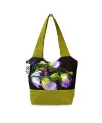 Городская сумка XYZ Флер С0325 Колокольчик Зеленая