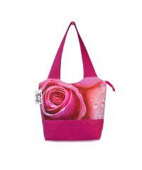 Городская сумка XYZ Флер С0326 Роза Малиновая