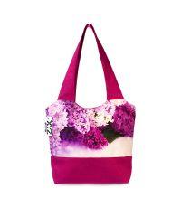 Городская сумка XYZ Флер С0327 Сирень Малиновая