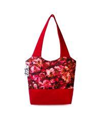 Городская сумка XYZ Флер С0329 Чайная роза Красная