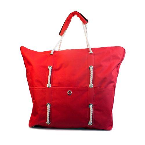 Пляжная сумка XYZ Безвиз С3003 Красная