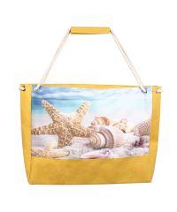 Пляжная сумка XYZ Holiday 2202 морская звезда желтая