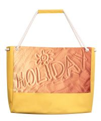 Пляжная сумка XYZ Holiday 2204 песок желтая