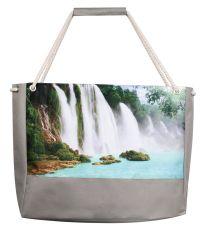 Пляжная сумка XYZ Holiday 2213 водопад серая