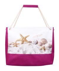 Пляжная сумка XYZ Holiday 2225 ракушки на песке