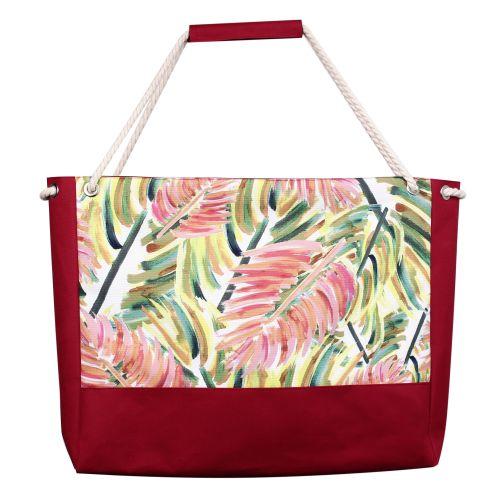 Пляжная сумка XYZ Holiday 2276 цветные листья