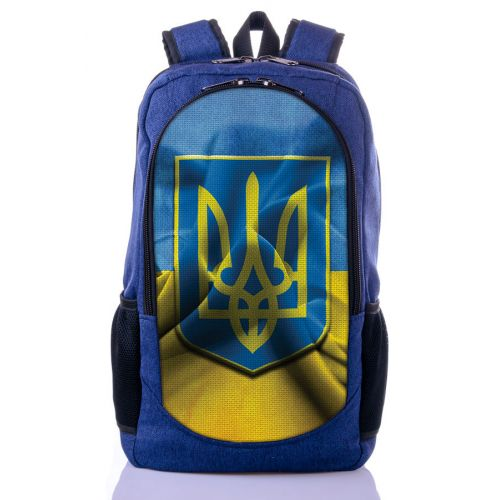 Городской рюкзак XYZ New Design РГ18116 Флаг синий