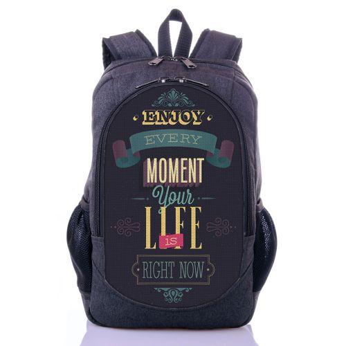 Городской рюкзак XYZ New Design РГ18403 LIFE серый